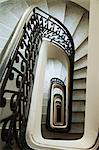 Staircase in Palacio Barolo, Buenos Aires, Argentina Stock Photo - Premium Royalty-Free, Artist: Marnie Burkhart, Code: 614-03648594