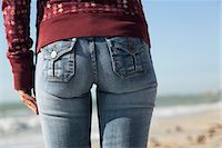 Woman's back side, close-up Stock Photo - Premium Royalty-Freenull, Code: 632-03652057