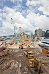 Construction On Queen's Pier, Hong Kong, China Stock Photo - Premium Rights-Managed, Artist: Tomasz Rossa, Code: 700-03654443
