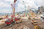 Construction On Queen's Pier, Hong Kong, China Stock Photo - Premium Rights-Managed, Artist: Tomasz Rossa, Code: 700-03654444