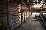 Bags of Coffee Beans in Warehouse, Costa Rica Stock Photo - Premium Rights-Managed, Artist: Brian Pieters, Code: 700-03654498
