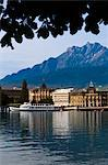 View of Lake Lucerne, Lucerne, Switzerland Stock Photo - Premium Rights-Managed, Artist: R. Ian Lloyd, Code: 700-03654577