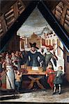 The Dance of Death Paintings, Mill Bridge, Lucerne, Switzerland Stock Photo - Premium Rights-Managed, Artist: R. Ian Lloyd, Code: 700-03654589
