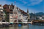 Cityscape of Lucerne, Switzerland Stock Photo - Premium Rights-Managed, Artist: R. Ian Lloyd, Code: 700-03654597
