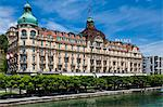 The Palace Hotel, Lucerne, Switzerland Stock Photo - Premium Rights-Managed, Artist: R. Ian Lloyd, Code: 700-03654601