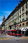 Street Scene, Bern, Switzerland Stock Photo - Premium Rights-Managed, Artist: R. Ian Lloyd, Code: 700-03654614