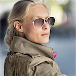 Woman with sunglasses Stock Photo - Premium Royalty-Free, Artist: iRepublic, Code: 698-03656202