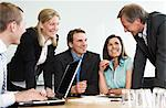 Five people in the office Stock Photo - Premium Royalty-Free, Artist: Kablonk! RM, Code: 698-03657243