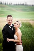 special moment - Portrait of Bride and Groom, Eagles Nest Golf Club, Vaughan, Ontario, Canada Stock Photo - Premium Royalty-Freenull, Code: 600-03659126