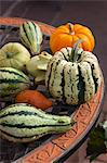 Ornamental Pumpkins and Gourds Stock Photo - Premium Royalty-Free, Artist: Christina Krutz, Code: 600-03659198