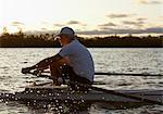 Man Rowing, Toronto, Ontario, Canada Stock Photo - Premium Rights-Managed, Artist: Jerzyworks, Code: 700-03659177
