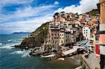Riomaggiore, Cinque Terre, Province of La Spezia, Ligurian Coast, Italy Stock Photo - Premium Rights-Managed, Artist: R. Ian Lloyd, Code: 700-03660061