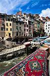 Riomaggiore, Cinque Terre, Province of La Spezia, Ligurian Coast, Italy Stock Photo - Premium Rights-Managed, Artist: R. Ian Lloyd, Code: 700-03660063