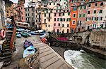 Riomaggiore, Cinque Terre, Province of La Spezia, Ligurian Coast, Italy Stock Photo - Premium Rights-Managed, Artist: R. Ian Lloyd, Code: 700-03660065