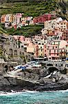 Manarola, Riomaggiore, Cinque Terre, Province of La Spezia, Ligurian Coast, Italy Stock Photo - Premium Rights-Managed, Artist: R. Ian Lloyd, Code: 700-03660073