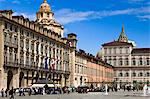 Piazza Castello, Turin, Turin Province, Piedmont, Italy Stock Photo - Premium Rights-Managed, Artist: R. Ian Lloyd, Code: 700-03660087