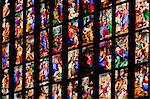 Stain Glass, Milan Cathedral, Milan, Province of Milan, Lombardy, Italy Stock Photo - Premium Rights-Managed, Artist: R. Ian Lloyd, Code: 700-03660129