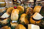 Cheese Display, Milan, Province of Milan, Lombardy, Italy Stock Photo - Premium Rights-Managed, Artist: R. Ian Lloyd, Code: 700-03660137