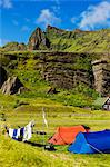 Campsite, Vik, Myrdalur, South Iceland, Iceland Stock Photo - Premium Rights-Managed, Artist: Atli Mar Hafsteinsson, Code: 700-03662549