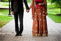 special moment - Hindu Bride and Groom Stock Photo - Premium Rights-Managednull, Code: 700-03665602