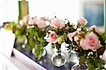 Vases with Pink Roses Stock Photo - Premium Rights-Managed, Artist: Ikonica, Code: 700-03665648