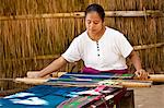 Woman Weaving Ikat Cloth, Sumba, Indonesia Stock Photo - Premium Rights-Managed, Artist: R. Ian Lloyd, Code: 700-03665839