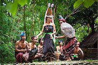 Traditional Dancers, Nihiwatu, Sumba, Indonesia Stock Photo - Premium Rights-Managednull, Code: 700-03665844