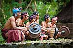 Traditional Musicians, Nihiwatu, Sumba, Indonesia Stock Photo - Premium Rights-Managed, Artist: R. Ian Lloyd, Code: 700-03665845