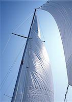 sailing boat storm - Sail Stock Photo - Premium Royalty-Freenull, Code: 698-03669828