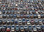 Cars at parking lot Stock Photo - Premium Royalty-Free, Artist: Sheltered Images, Code: 698-03671055