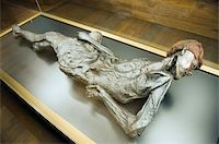 prehistoric - Preserved body of the 2000 year old Grauballe Man, Moesgard Museum of Prehistory, Arhus, Jutland, Denmark, Scandinavia, Europe Stock Photo - Premium Rights-Managednull, Code: 841-03673020