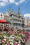Guildhalls in the Grand Place, UNESCO World Heritage Site, Brussels, Belgium, Europe Stock Photo - Premium Rights-Managed, Artist: Robert Harding Images, Code: 841-03673070