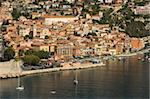 View from helicopter of Villefranche, Alpes-Maritimes, Provence, Cote d'Azur, French Riviera, France, Mediterranean, Europe Stock Photo - Premium Rights-Managed, Artist: Robert Harding Images, Code: 841-03673434
