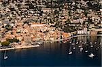 View from helicopter of Villefranche, Alpes-Maritimes, Provence, Cote d'Azur, French Riviera, France, Mediterranean, Europe Stock Photo - Premium Rights-Managed, Artist: Robert Harding Images, Code: 841-03673437