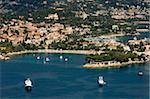 View from helicopter of St. Jean Cap Ferrat, Alpes-Maritimes, Provence, Cote d'Azur, French Riviera, France, Mediterranean, Europe Stock Photo - Premium Rights-Managed, Artist: Robert Harding Images, Code: 841-03673439