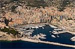 View from helicopter of Monte Carlo, Monaco, Cote d'Azur, Europe Stock Photo - Premium Rights-Managed, Artist: Robert Harding Images, Code: 841-03673443