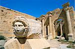 Gorgon head, Severan Forum, Leptis Magna, UNESCO World Heritage Site, Tripolitania, Libya, North Africa, Africa Stock Photo - Premium Rights-Managed, Artist: Robert Harding Images, Code: 841-03673460