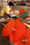 Bo Sang, Umbrella Village, Chiang Mai Province, Thailand, Southeast Asia, Asia