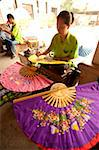 Bo Sang, Umbrella Village, Chiang Mai Province, Thailand, Southeast Asia, Asia Stock Photo - Premium Rights-Managed, Artist: Robert Harding Images, Code: 841-03674634