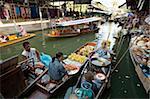 Damnoen Saduak Floating Market, Bangkok, Thailand, Southeast Asia, Asia