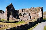 Iona Nunnery, nave arcades in the nunnery church, Iona, Inner Hebrides, Scotland, United Kingdom, Europe Stock Photo - Premium Rights-Managed, Artist: Robert Harding Images, Code: 841-03674715