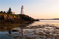 Letite Passage Lighthouse (Green's Point Lightstation), New Brunswick, Canada, North America Stock Photo - Premium Rights-Managednull, Code: 841-03675037