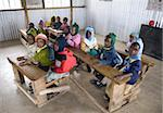 Nursery schoolchildren in new classroom, Ngeteti Primary School, Rift Valley, Kenya, East Africa, Africa Stock Photo - Premium Rights-Managed, Artist: Robert Harding Images, Code: 841-03675412