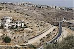 Israeli road in the West Bank, Beit Jala, Palestinian Authority, Israel, Middle East Stock Photo - Premium Rights-Managed, Artist: Robert Harding Images, Code: 841-03675713