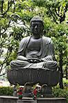 Meditating Buddha statue, Tokyo, Japan, Asia Stock Photo - Premium Rights-Managed, Artist: Robert Harding Images, Code: 841-03675816