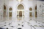 Thousands of semi-precious stones, inset in marble, decorate the Sheikh Zayed Grand Mosque, Abu Dhabi, United Arab Emirates, Middle East Stock Photo - Premium Rights-Managed, Artist: Robert Harding Images, Code: 841-03675918