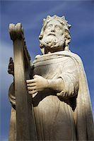 David statue in Salon de Provence, Bouches du Rhone, France, Europe Stock Photo - Premium Rights-Managednull, Code: 841-03676011