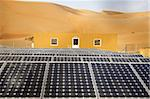 Solar panels in Liwa desert, Abu Dhabi, United Arab Emirates, Middle East Stock Photo - Premium Rights-Managed, Artist: Robert Harding Images, Code: 841-03676013