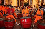 Drum and percussion music for the traditional Chinese New Year Lion Dance, Ho Chi Minh City, Vietnam, Indochina, Southeast Asia, Asia Stock Photo - Premium Rights-Managed, Artist: Robert Harding Images, Code: 841-03676024