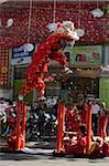 Lion dance performers, Chinese New Year, Ho Chi Minh City, Vietnam, Indochina, Southeast Asia, Asia Stock Photo - Premium Rights-Managed, Artist: Robert Harding Images, Code: 841-03676030
